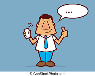 Salesman Cartoon