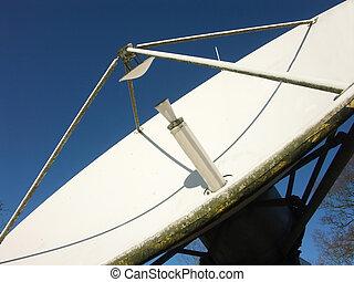 satelite broadcasting dish