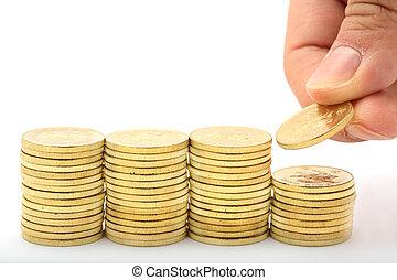 Saving a stacks of money