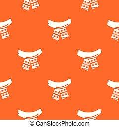 Scarf pattern vector orange for any web design best