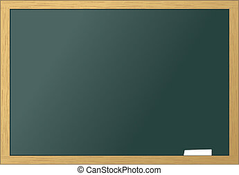 School blackboard blank