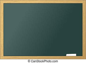 School blackboard blank