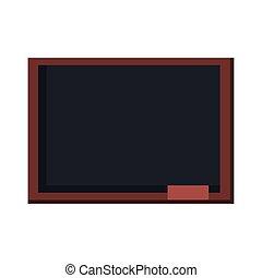 school blackboard icon vector design