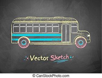 School bus.