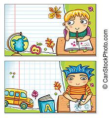 School cards 1