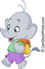 School elephant