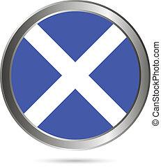 Scotland flag button.