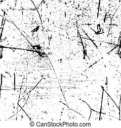 Highly detailed grunge style scratched image