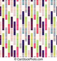 seamless abstract geometric striped pattern