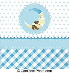 seamless baby boy pattern