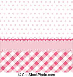 seamless baby girl pattern, wallpaper