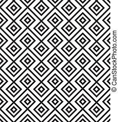 undulating diamond pattern over slim chevron stripes