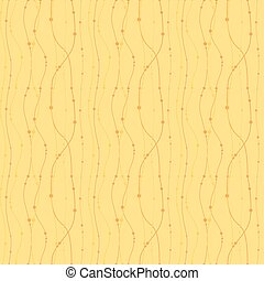 Seamless Floral Pattern Autumn Nature Background