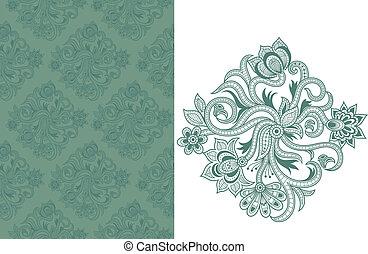 Seamless Floral Pattern C