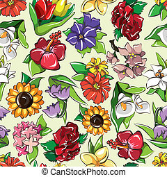 seamless flower pattern