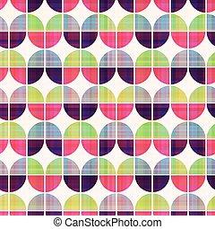 seamless geometric circular pattern