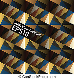 Seamless geometrical triangles abstract background. Vector, EPS10