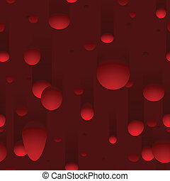 Blobs of wax in lava lamp style seamless background