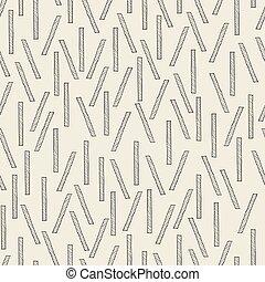 seamless monochrome stick pattern background