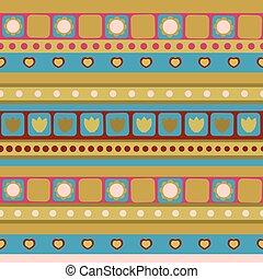 seamless pattern for children