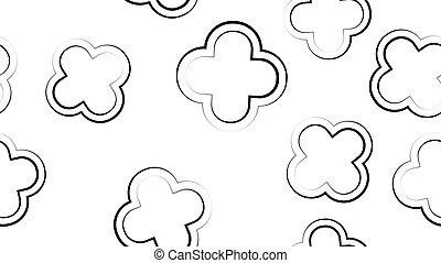 Seamless pattern of bell peppers. Vector cartoon background. Hand-drawn style