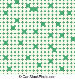 Seamless pattern with white circles