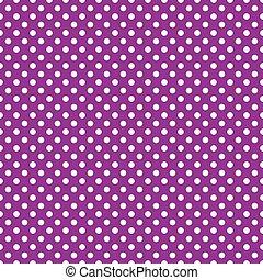 seamless purple polka dot background