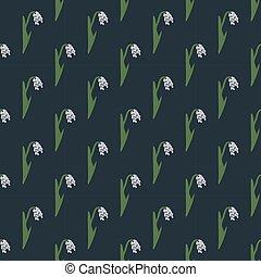 Seamless rice pattern