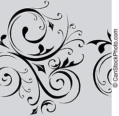 Seamless vector pattern wallpaper