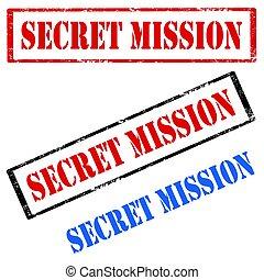 Secret Mission-stamp