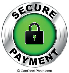 Vector illustration of icon for secure payment