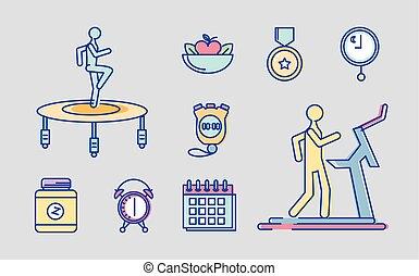 set of fitness