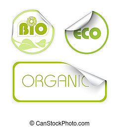 Set of labels for organic