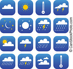 set of Weather and Climate