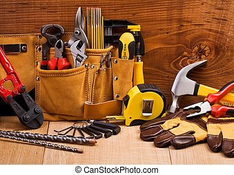 set of working tools