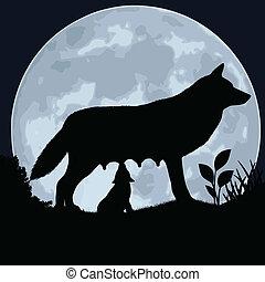 She-wolf.