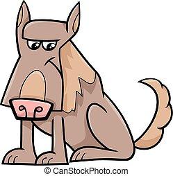 sheep dog cartoon illustration