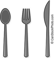 Silverware Spoon Fork Knife