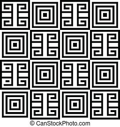 Simple Geometric abstract seamless pattern background. Vector illustration