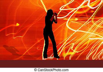 singer girl