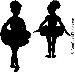 Small ballerinas