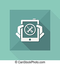 Smartphone setting icon