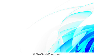 smooth blue abstract