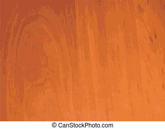 Brown wooden smooth structure to background, natural pattern, vector illustration