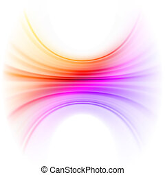Smooth technology light lines background. EPS 8 vector file included