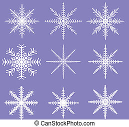 Snowflakes - Ready for Brush Templates