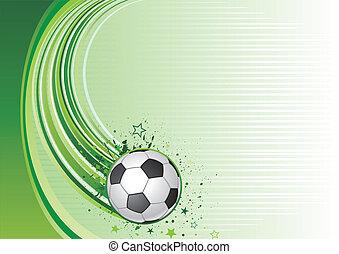 vector background of soccer sport