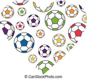 Soccer Football Heart