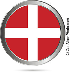 Order of Malta flag button