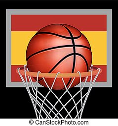 Spanish basket ball
